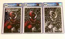 Spider-Man Spider's Shadow #1 Mico Suayan Virgin CGC 9.8 **ENITER SET OF 3**