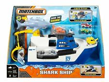 Matchbox Mission Marine Rescue Shark ship DVR60 NEW