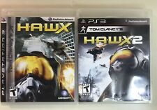 Tom Clancy's H.A.W.X  + HAWX 2 - Plane Fly Air Conflict  -Sony PS3 - 2 Game Lot