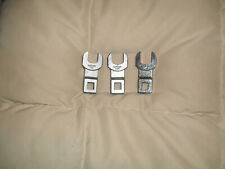 """3Matco Tools~2- WCFL20~ 5/8""""  & 1-19~9/16"""" Open End Crowfoot Wrenches 3/8 dr."""