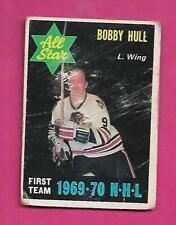 1970-71 OPC # 235 HAWKS BOBBY HULL   AS FAIR CARD (INV# C4383)