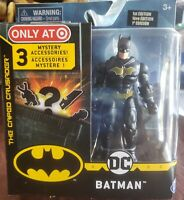 """DC The Caped Crusader Spin Master Batman 4"""" Figure Target Exclusive 1st Edition"""