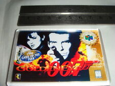 NINTENDO 64 GAME COVER FRIDGE MAGNET 007 GOLDEN EYE