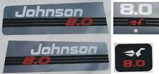 Johnson Outboard Hood Decals 6/8 hp 1991-2001