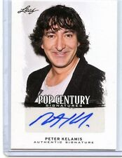 2012 LEAF POP CENTURY AUTOGRAPH PETER KELAMIS SIGNATURES