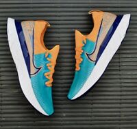 Nike React Infinity Run Flyknit By You ID Custom CU1443-481 Mens size 7.5