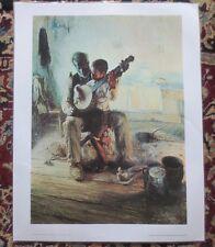 Henry Tanner - The Banjo Lesson - Original Laminated Art Print
