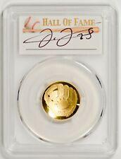 2014-W $5 Gold Baseball Pcgs Pr70Dcam - Retired Jersey - 1 Of 2 - Frank Thomas