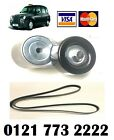 Lti Taxi Tx4 Brand New Engine Auxillary Fan Belt Tensioner And Belt