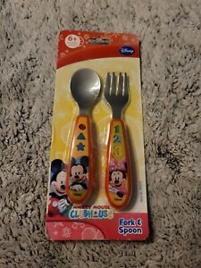 Disney Mickey Mouse Clubhouse Fork & Spoon