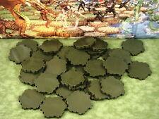 Swamp Water 1-Hex Tile X34 Heroscape Terrain