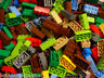 ☀️50 X LEGO 2x4 BRICKS MIX LEGOS ALL COLORS HUGE BULK LOT PARTS PIECES @ RANDOM