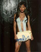 MEAGAN GOOD GENUINE AUTHENTIC SEXY SIGNED 10X8 PHOTO AFTAL & UACC F