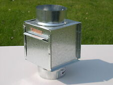 Spark Arrestor Box Inline 4 inch - Riley Stoves
