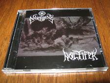 """NOKTURNE / NOCTIFER """"Wargod Domination"""" CD krieg demoncy"""