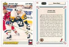 1991-92 UPPER DECK EURO-STARS #6 (E6) - JAROMIR JAGR