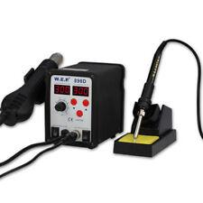 WEP 898D SMD ESD SAFE 2 en 1 air chaud REPARATION Fer à Souder Station DEL Black