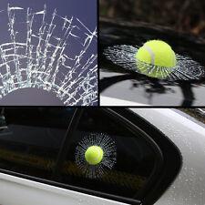Creative 3D Crazy Tennis Ball Hit Window/Body Auto Car Sticker Windshield Decal