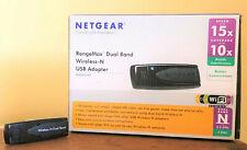 NETGEAR RangeMax Dual Band Wireless-N USB Adapter WNDA3100