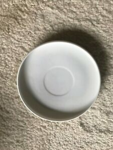"""Old/Antique Chinese white Blanc De Chine porcelain plate: 5-1/4""""D x3/4""""H"""