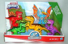 Playskool Heroes Jurassic World Dino Rumble 5 Figure Dinosaur Pack - NIP