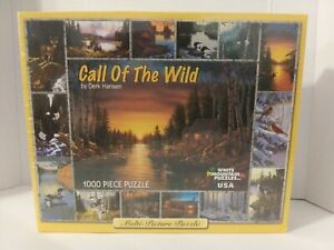 CALL OF THE WILD 1000 PIECE JIGSAW PUZZLE BRAND NEW WHITE MOUNTAIN PUZZLES NIB