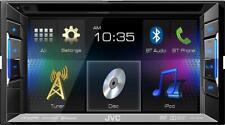"""JVC KW-V21BT 2-DIN In-Dash 6.1"""" Touchscreen DVD Stereo"""