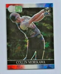 2021 COLLIN MORIKAWA LEAF PRO SET RED WHITE BLUE CRYSTALS ROOKIE #1/5 HOT LIVE