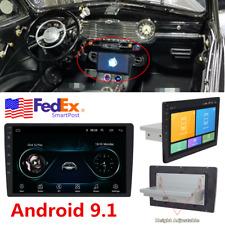 10.1'' INCH Single 1DIN Android 8.1 Car Stereo MP5 Radio Player GPS Navi Wifi 4G