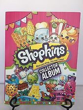 SHOPKINS COLLECTOR ALBUM inclusive 40+ CARDS