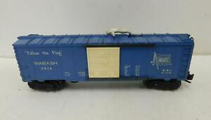 LIONEL 3424 WABASH OPERATING BOX CAR