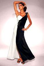 Kleid von Heine Abendkleid, schwarz/weiß, Kurzgröße-44, NEU Stark REDUZIERT!
