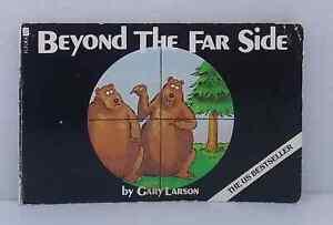 Beyond the Far Side by Gary Larson vintage cartoon paperback 1991 oddball humour