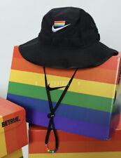 Nike Sportswear 'BeTrue' Unisex Bucket Hat CZ6232-010 Black Size M/L New