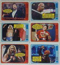 WWE 2012 HERITAGE The SUPERSTARS SPEAK  Trading CARD SUB SET of 20