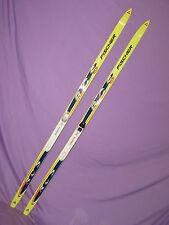 Fischer RCS Sprint Crown cross country skis 170cm w/ Salomon Profil xc bindings~