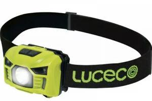 Luceco USB L.E.D Rechargeable Inspection Head Torch ( 6500K White)