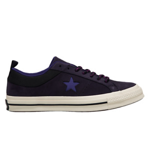Converse One Star OX Men's Cave Purple Athletic Casual Lifestyle Sneakers Shoes