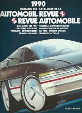 Automobil Revue Automobile 1990 • Catalogue Number • GOOD