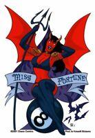 Sexy DEVIL Miss Fortune PURGATORI Sticker CHAOS! COMICS Decal #SexyPinUpStickers