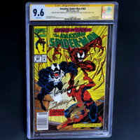 AMAZING SPIDER-MAN #362 💥 3X SIGNED STAN LEE + BAGLEY & EMBERLIN 💥 CGC 9.6 SS