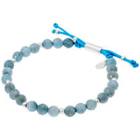 Gorjana Power Gemstone Aquamarine Beaded Bracelet For Truth 17120524SPKG