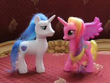 My Little Pony Lot of 2 Shining Armor and Princess Candice Brushable white pink
