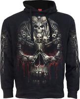 Spiral Direct DEATH BONES Side Pocket Hoodie Metal/Skull/Souls/Dark Deceased