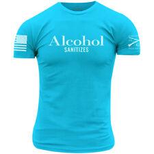 Grunt estilo alcohol Desinfecta T-Shirt-Tahiti Azul