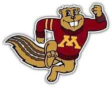 """Minnesota Golden Gophers College NCAA Car Bumper Vinyl Sticker Decal 5""""X3.8"""""""