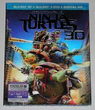 Action Blu-ray 3D Blu-ray DVD Combo - Teenage Mutant Ninja Turtles 3D (New)
