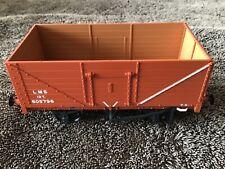More details for dapol 0 gauge lms 7-plank wagon - bauxite