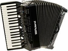 Roland V-Accordion FR-4X BK · Tasten-Akkordeon Midi Akkordeon digital Akkordeon