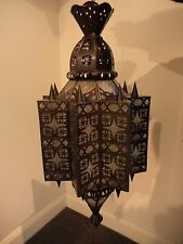Moroccan Light Shade or Ornamental Handing Decor - Extremely Unique
